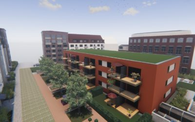 2020: Neubau in Eilbek- Papenstraße